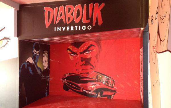 "Decorazione gadget store ""DIABOLIK"""