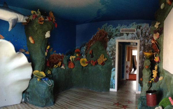 Decorazione stanza tematica Gardaland