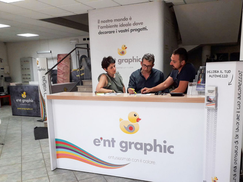 Ent Graphic stampa digitale a Mantova